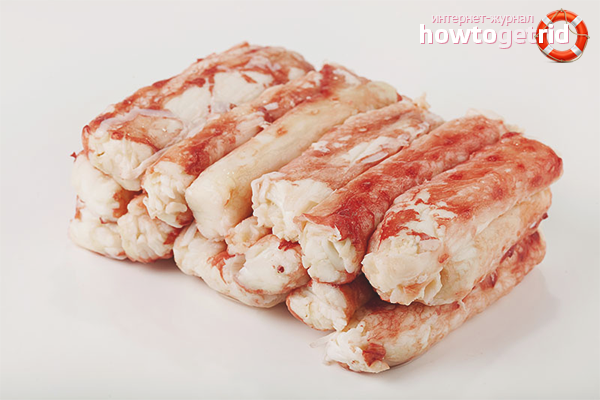 Рецепты из замороженное натуральное мясо крабов